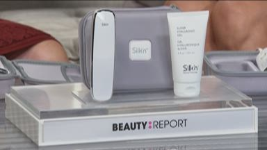 silk n titan skin device with gel and travel case 8552118 hsn